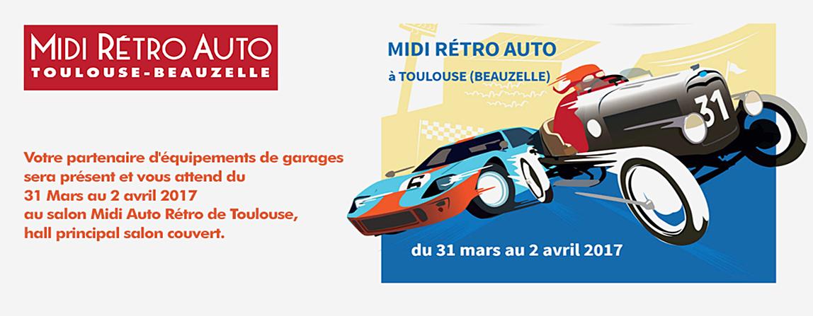 SEG Equipemenst de garages - Salon Auto Rétro Mobile Beauzelle 2017