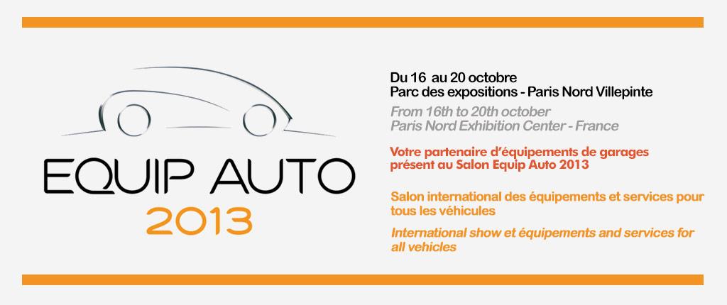 SEG - Equipements de garages Salon Equip Auto 2013