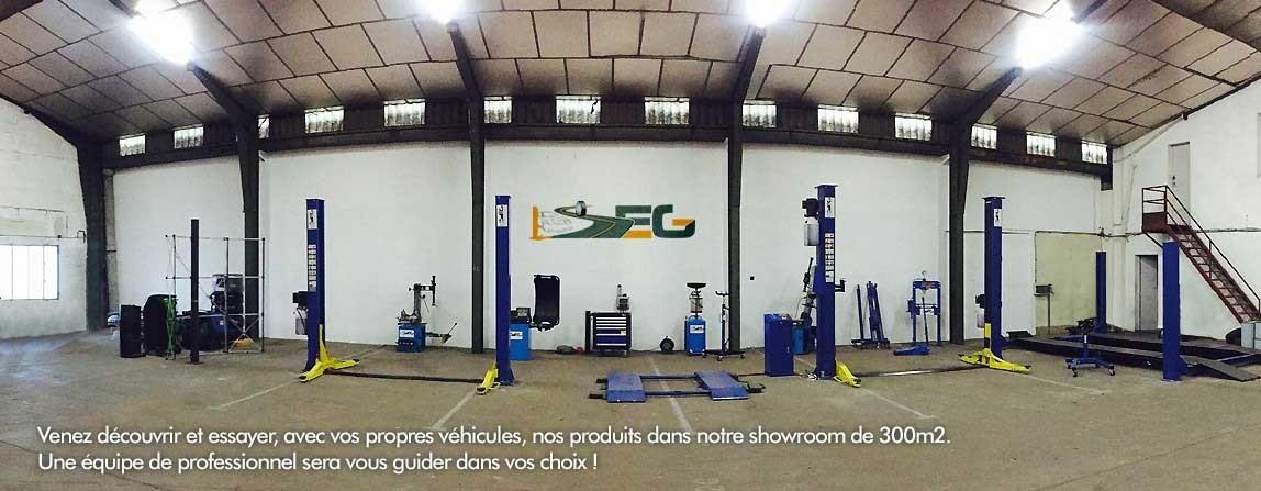 SEG Equipements de garages - Votre garage sur 300m2.